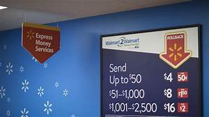 Walmart Slashes Prices Again On Domestic Money Transfers