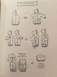 Marie Kondo Kleidung Falten : konmari how to fold parkas and turtlenecks ordnung pinterest aufr umen haushalte und ~ Bigdaddyawards.com Haus und Dekorationen