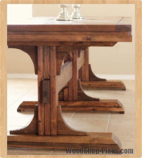 woodwork dining room table wood plans  plans