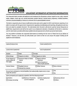 affirmative action plan template 7 free sample example With affirmative action policy template