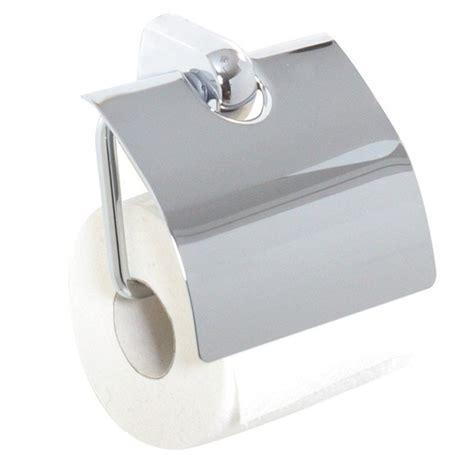 support papier toilette support de papier wc chrom 233 avec couvercle protecteur