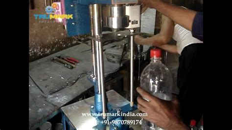 cost pet bottle chuck capping machine carbonated soda bottle capping machine youtube