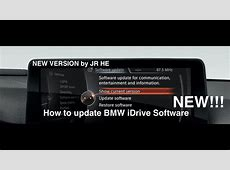 How To Update BMW iDrive Software latest version new