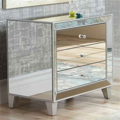 Rediscovering The Glamour Of Mirrored Nightstands