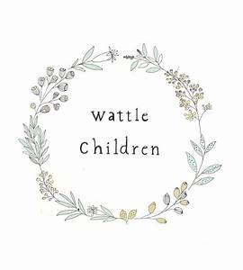 Wattle Children.   Katt Frank   Illustration   Pinterest ...