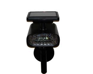 high output bright wall mount solar spot light 4