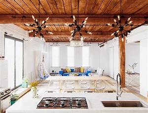 The, Best, Open, Plan, Interior, Designs, Which, Applied, With, Fashionable, And, Contemporary, Decor, Ideas