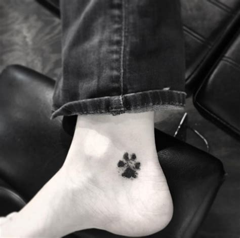 perfect paw print tattoos  immortalize  furry