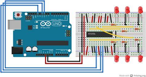 Arduino Digitalpotcontrol