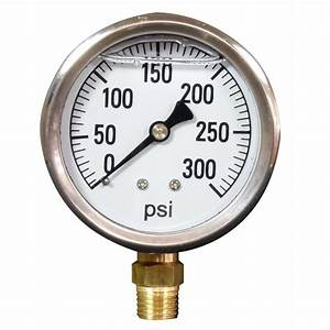 Pressure Gauge With Analog Output