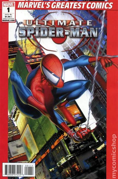 ultimate spider man  marvels greatest comics comic books