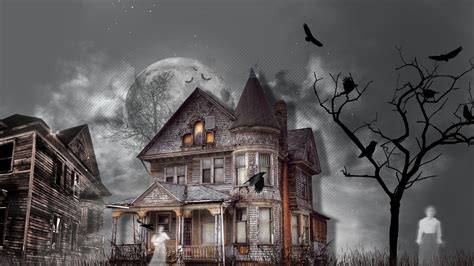Background Haunted House by 35 Haunted House Hd Wallpapers Background Images