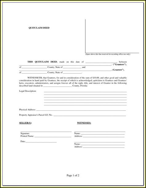 lady bird deed florida form form resume examples