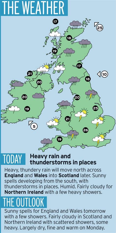 Saturday Weather Forecast Map