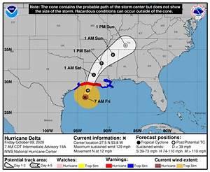 Louisiana Dotd Braces For Hurricane Delta While Still