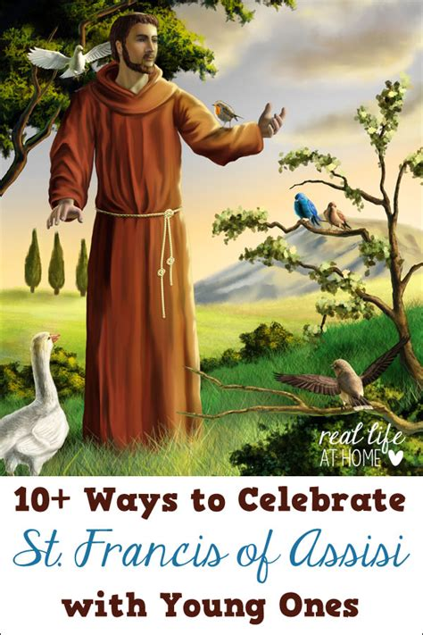 10 ideas for celebrating st francis of assisi with ones 284 | st francis with young ones