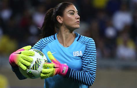 Hope Solo Comments About the Swedish National Soccer Team