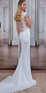 7e408bfeec03 27 stunning trend tattoo effect wedding dresses hochzeitskleider brautkleid  und brautkleider