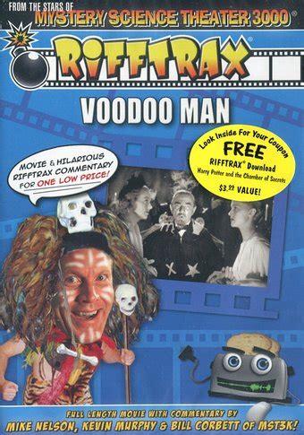 Rifftrax - Voodoo Man DVD (2010) - Legend Films | OLDIES.com