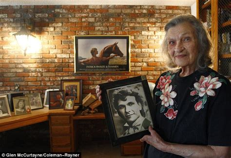patrick swayzes mother patsy dies aged   days    anniversary   sons