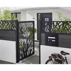 Clotures De Jardin Castorama by Les 25 Meilleures Id 233 Es Concernant Portillon Sur Pinterest
