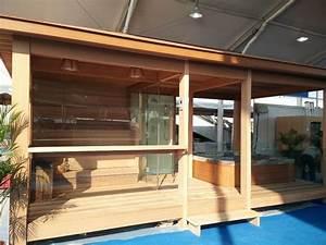 Maison Préfabriquée En Bois : pr fabriqu e maison en bois gazebo en plein air sauna ~ Premium-room.com Idées de Décoration