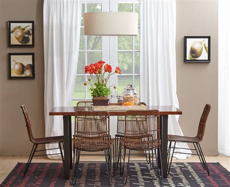 urban dweller and metal dining room from jofran coleman furniture