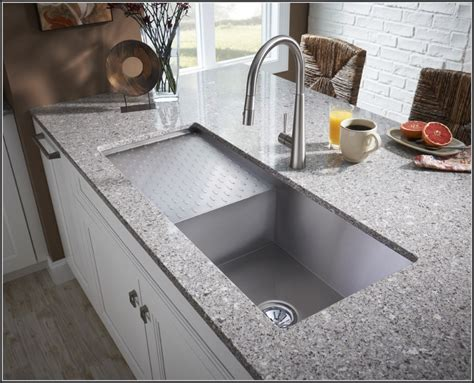 kitchen sink undermount elkay undermount sink with drainboard sinks and faucets 2954