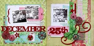 December 25th Scrapbook Page Kit .:. Scraptique, Inc.
