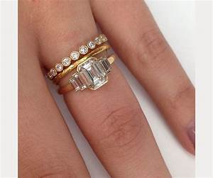 Engagement rings wedding rings stacked wedding ring for Wedding ring descriptions
