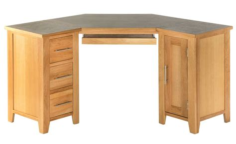 l shaped oak computer desk home office desks office furniture