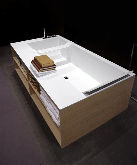 Freistehende Badewanne Die Moderne Badeinrichtungbadewane In Massivholz Eingebaut 2 by Antonio Lupi Badewanne Antoniolupi Antonio Lupi Design 73