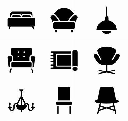 Icons Furniture Fill Comfortable Vector Furnitures Flaticon
