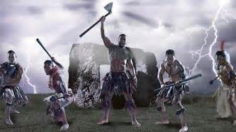 Ancient Pacific Island Warriors