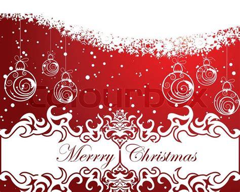 Schöne Vektor Weihnachten Neujahr Hintergrund Für Design