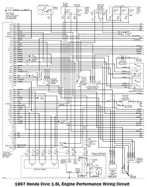 Honda Wire Harness Diagram Circuit Wiring