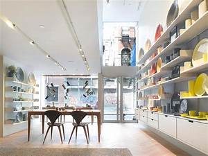 Retail shop interior design of mud australia showroom new for Interior decorator stores