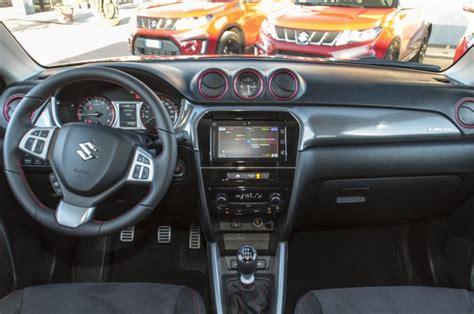 Interni Suzuki Suzuki Vitara S Prova Su Strada Prezzo Interni E