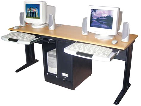 Computer Desk For Office Use by Two Person Workstation For Office And Home Office Homesfeed