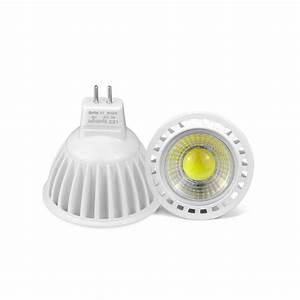 Spot à Led : 3w 5w 7w mr16 spotlight led bulb mr16 led cob light spot light lamp aluminum ac dc 12v home ~ Melissatoandfro.com Idées de Décoration