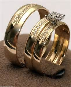 affordable wedding ring sets cheap wedding rings sets for him and