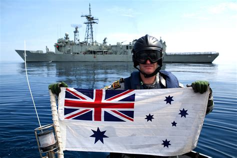 Boatswain Australian Navy by The Australian White Ensign And Its Connection With Hmas