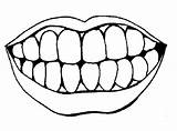 Lips Coloring Pages sketch template