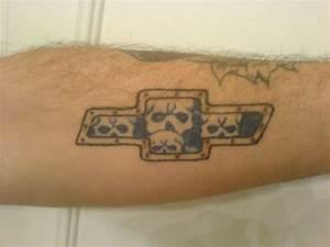 Chevy Bowtie With Flames Tattoo | www.pixshark.com ...