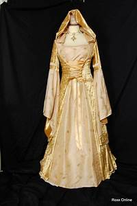 medieval pagan gothic hooded wedding prom dress us 6 by With hooded wedding dress
