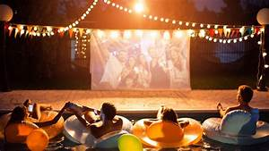 The Best Outdoor Projector 2020  Entertain Friends And