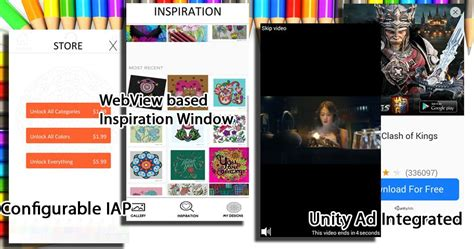 colorize coloring app unity source code codester