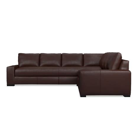 l shaped leather sofa robertson 2 piece l shaped leather sofa sectional right