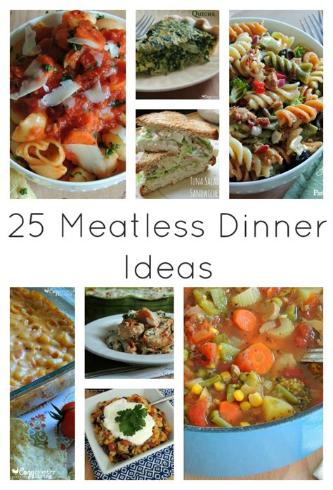 family meal ideas 25 meatless family dinner ideas cozy country living