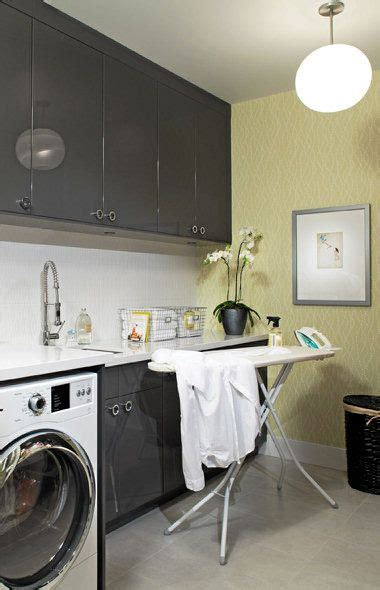 ideas  yellow laundry rooms  pinterest